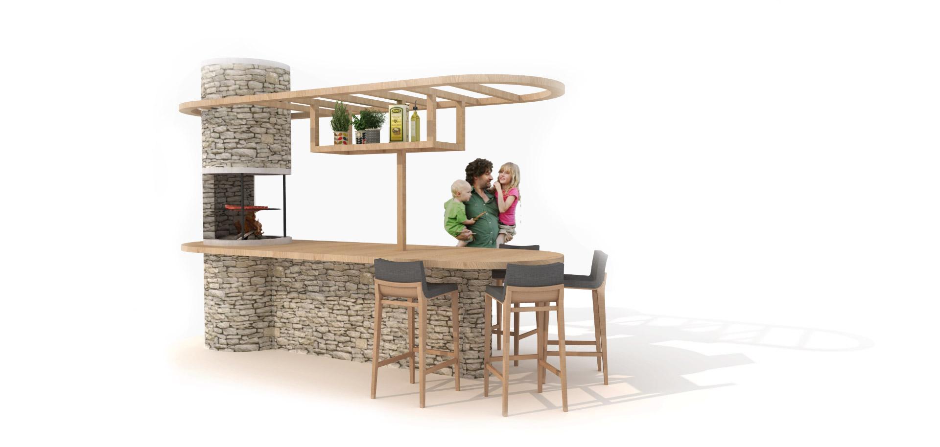 Buitenkeuken design concept